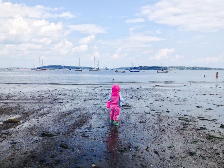Maddie on the Beach